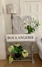 Load image into Gallery viewer, Large Distressed Standing Boulangerie Sign