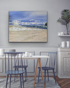 "Painting Original Art called "" Coast"" By Kerrie Griffin"