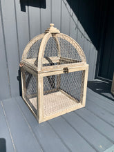 Load image into Gallery viewer, Set Of Two Chicken Wire Cage Lanterns