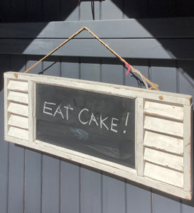 Louvre Shabby Chic Distressed Blackboard
