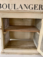 Load image into Gallery viewer, Vintage Antique Wooden Meat Store Safe Cupboard