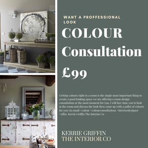 Colour Consultation Offer £99 With Interior Designer Kerrie Griffin