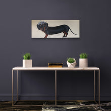 Load image into Gallery viewer, Dutches Daphne the Dash Hound  Original Canvas By artist Kerrie Griifin