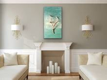 Load image into Gallery viewer, Driftwood Original canvas by Kerrie Griffin called 'calm'