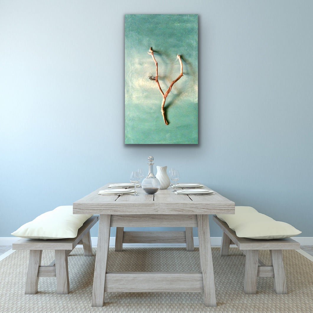 Driftwood Original canvas by Kerrie Griffin called 'calm'