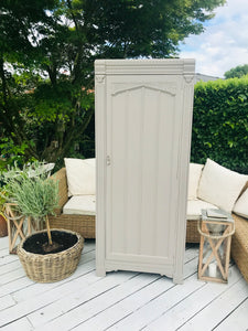 Hall Cabinet Hand Painted in F&B - Painted by Kerrie Griffin
