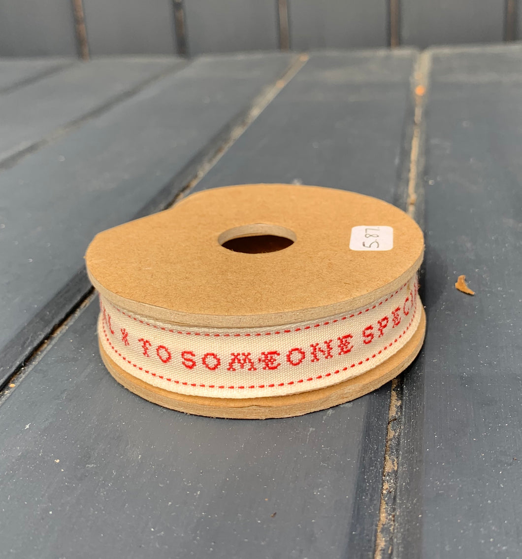 East Of India - Someone Special ribbon spool