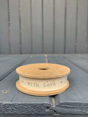 East Of India - With Love Ribbon Spool