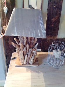 Driftwood Lamp Base Large Made In The Philippians