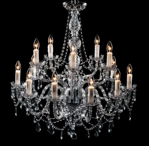 Clarence Chandelier - 14 Light India Jane