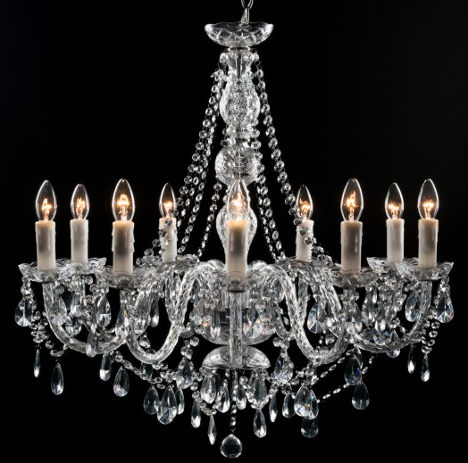 Clarence Chandelier - 9 Light- India Jane