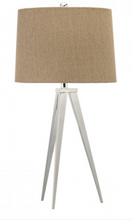 Load image into Gallery viewer, Cordoba Tripod Table Lamp Base with Drum Shade - India Jane