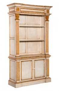 Ducale Bookcase - Distressed Finnish - India Jane