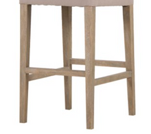 Load image into Gallery viewer, Sand Coloured Jonah Bar Stool  - Contemporary French