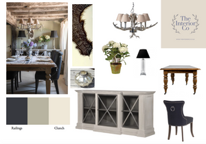 Period Dining Room - Mood Board