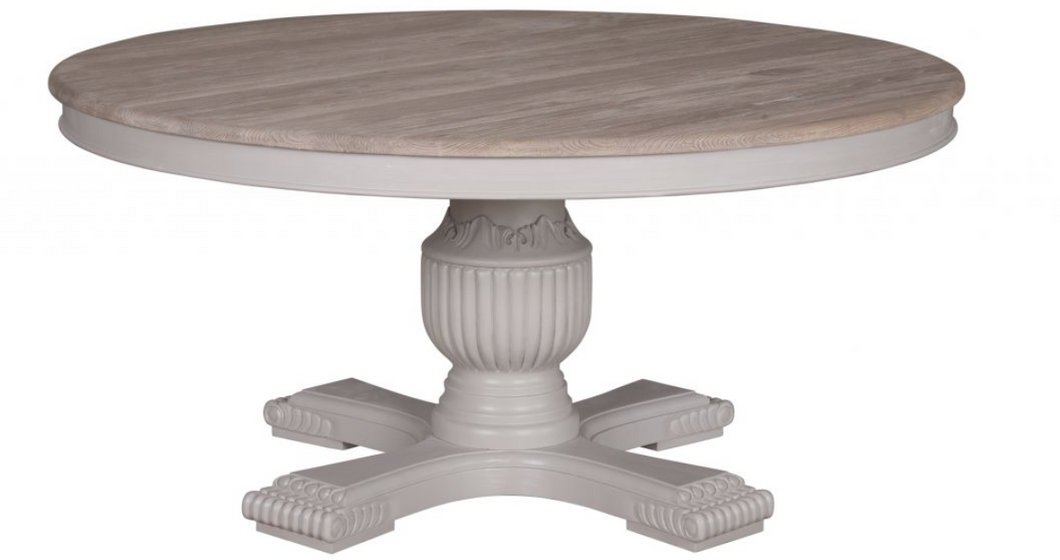 Hardwicke Dining Table - Grey - India Jane