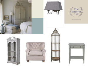 Cool Calm Country - Mood Board