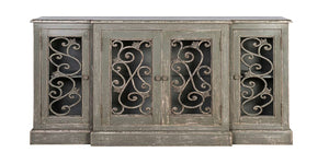 Jali 4 Door Colonial Sideboard by India Jane