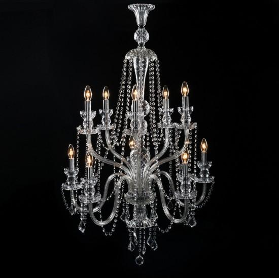 Bowes Chandelier - 10 Light - India Jane