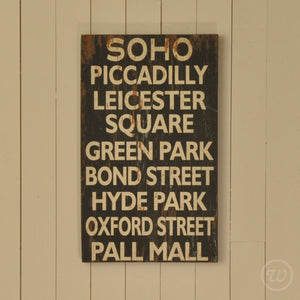 London landmarks wall plaque