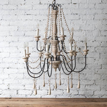 Load image into Gallery viewer, LYNFIELD SMALL BEADED CHANDELIER