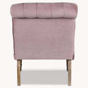Pale Pink Occasional Chair