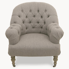 Load image into Gallery viewer, Upholstered Natural Occasional Chair