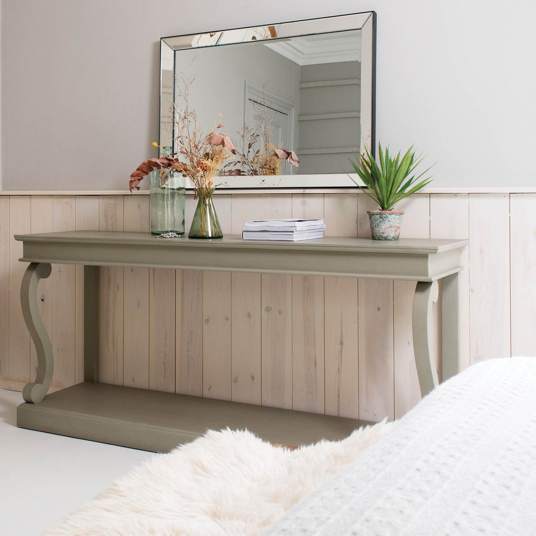 STANLEY LONG GREY CONSOLE TABLE
