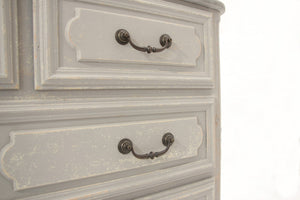 FRENCH COMMODE WITH STONE TOP