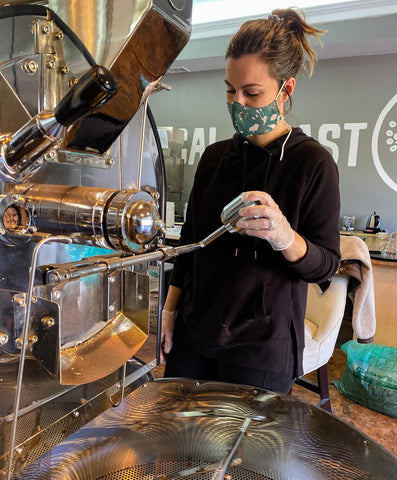 Coffee Roasting - Mask and Glove