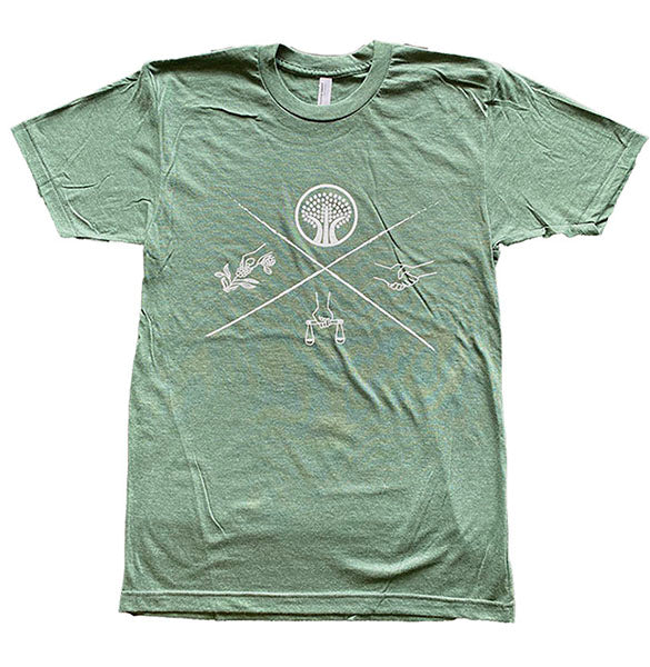 Green Short Sleeve Mission Tee