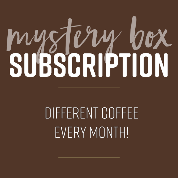 Coffee Mystery Box - Fundraiser