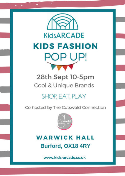 kidsARCADE Fashion Pop-Up