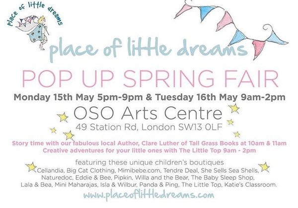 POP UP Spring Fair - Monday 15th May 2017