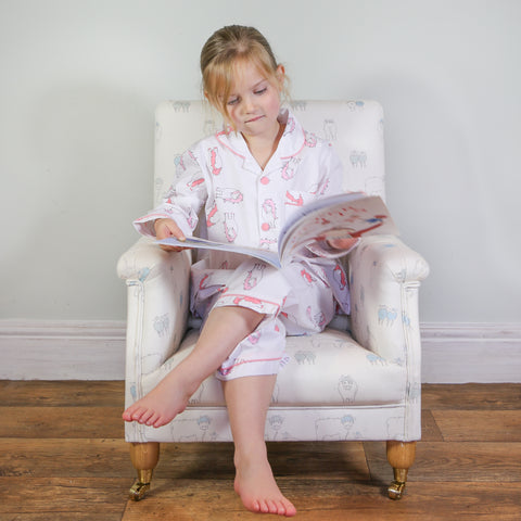 Embroidered Personalised Florence Pony Dressing Gown