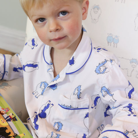 Blue Pony Pyjamas