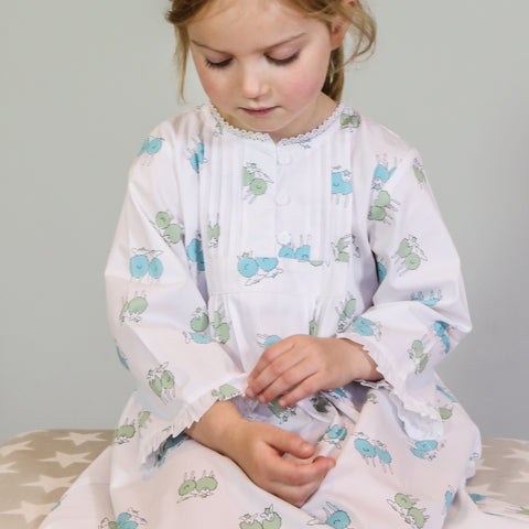 Green Isla Lamb Night Dress