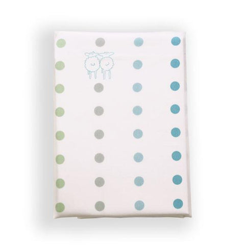 Children's Organic Single Bed Pillowcase Spots