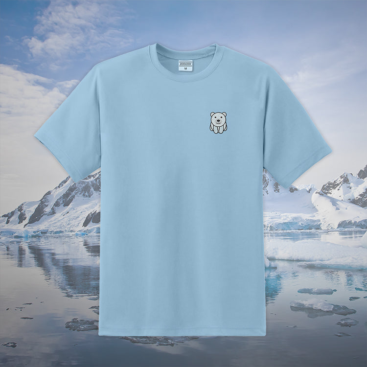 Polar Bear Tee Baby Blue