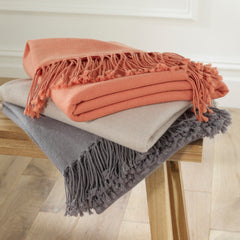 Luxury Cashmere & Lambswool Throw