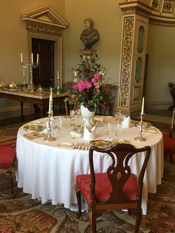 Holkham Hall - The State Dining Room