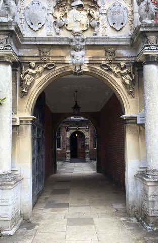 Blicking Hall - The Main Entrance