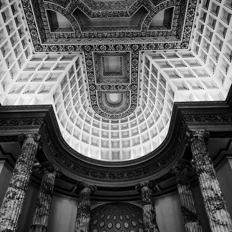 Holkham Hall - The Marble Hall