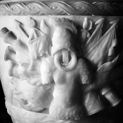 Holkham Hall - Urn Detail
