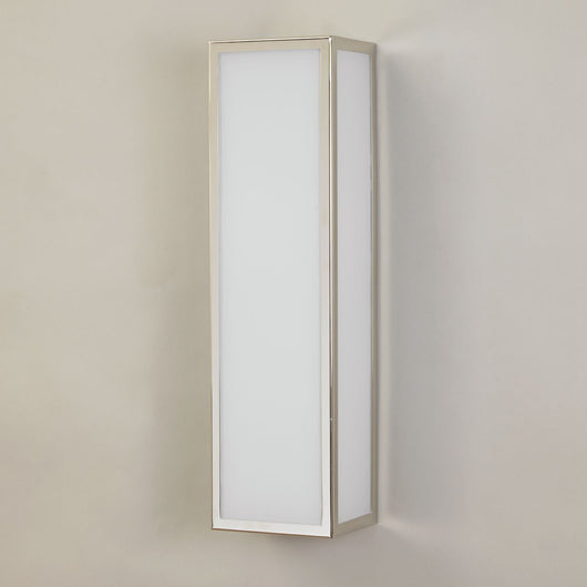Easton Bathroom Wall Light-Nickel