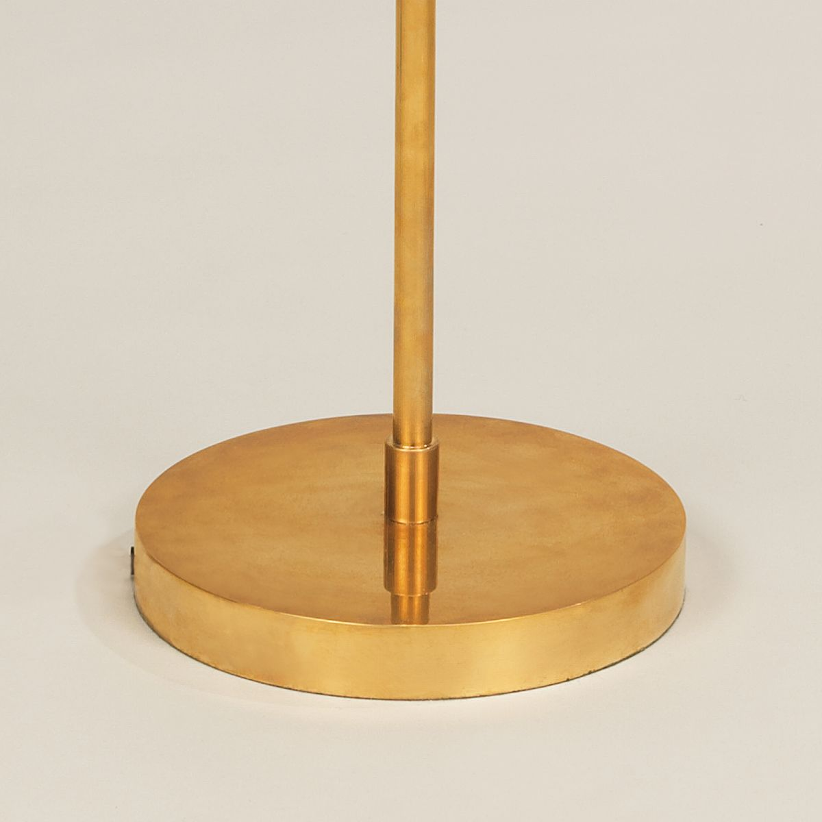 Addison Floor Light-Polished Brass-Detail | Nicholas Engert Interiors