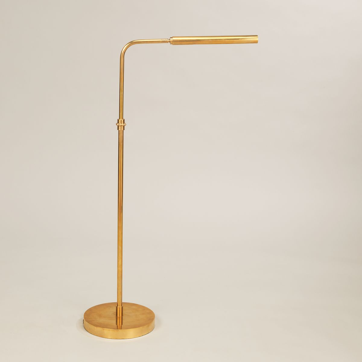 Addison Floor Light-Polished Brass | Nicholas Engert Interiors
