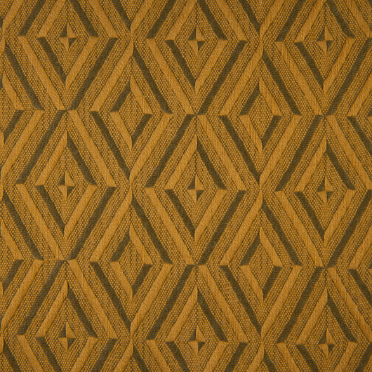 Woven Jacquard Fabric - Gower 53/003 Ochre Tan