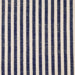 Woven Striped Fabric - Bude 02/031 Mood Indigo | Nicholas Engert Interiors
