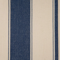 Woven Striped Fabric - Aldeburgh 06/031 Mood Indigo from Nicholas Engert